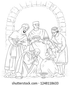 joseph shares food coloring pages nativity coloring pages coloring shares pages joseph food