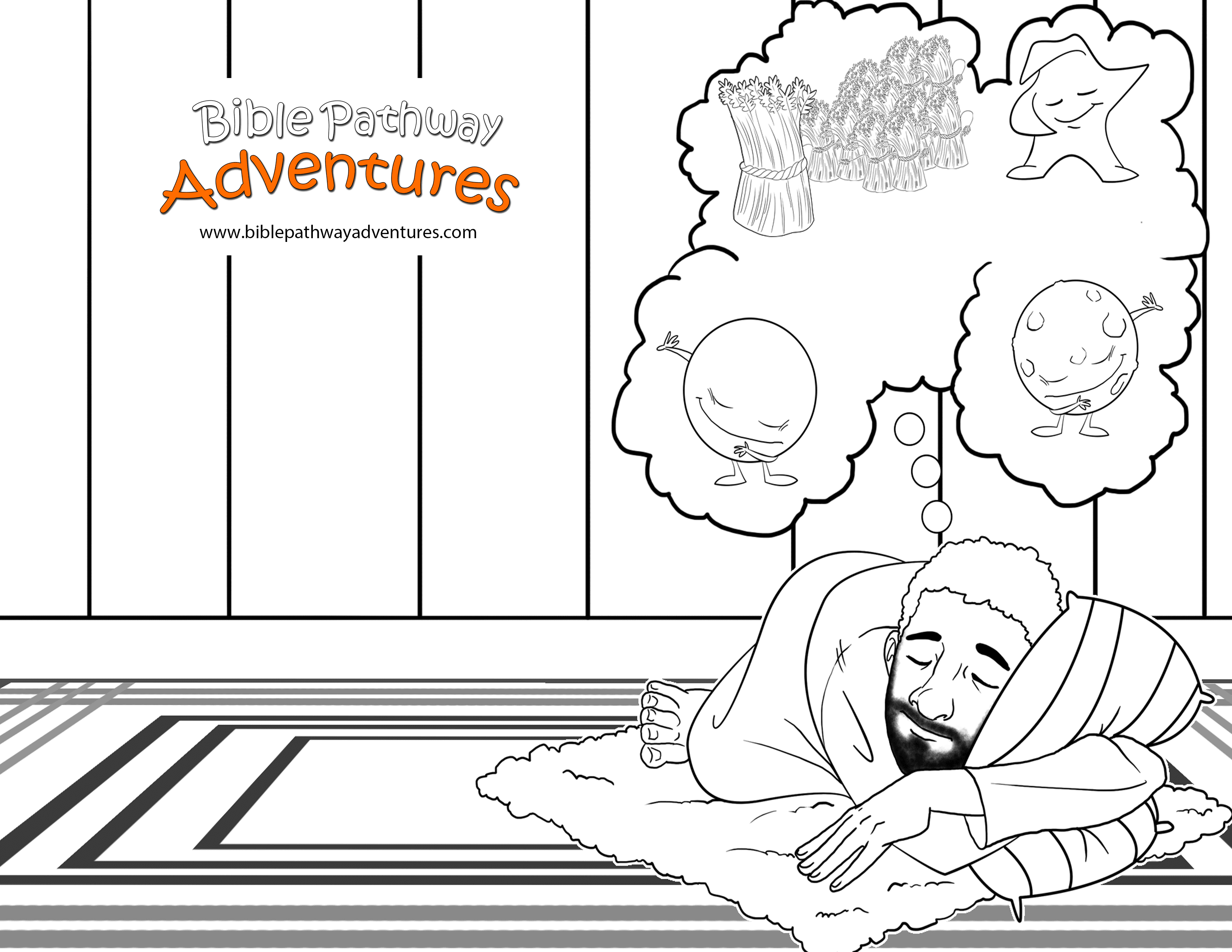 joseph the dreamer coloring pages joseph dreams coloring pages go back gt gallery for pages dreamer the coloring joseph