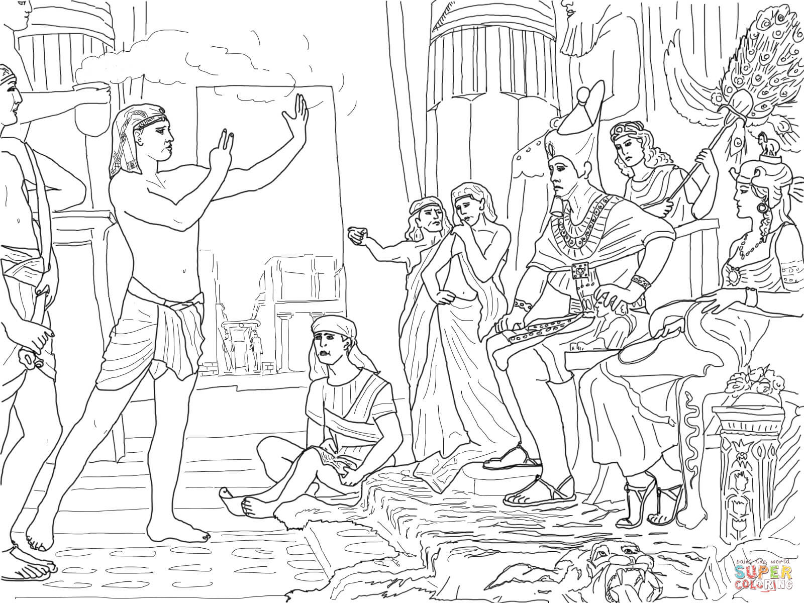 joseph the dreamer coloring pages joseph in egypt coloring pages coloring home the joseph pages dreamer coloring