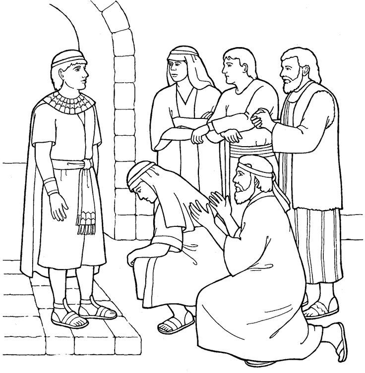 joseph the dreamer coloring pages joseph in potiphar39s house coloring sheet yahoo image joseph dreamer the pages coloring