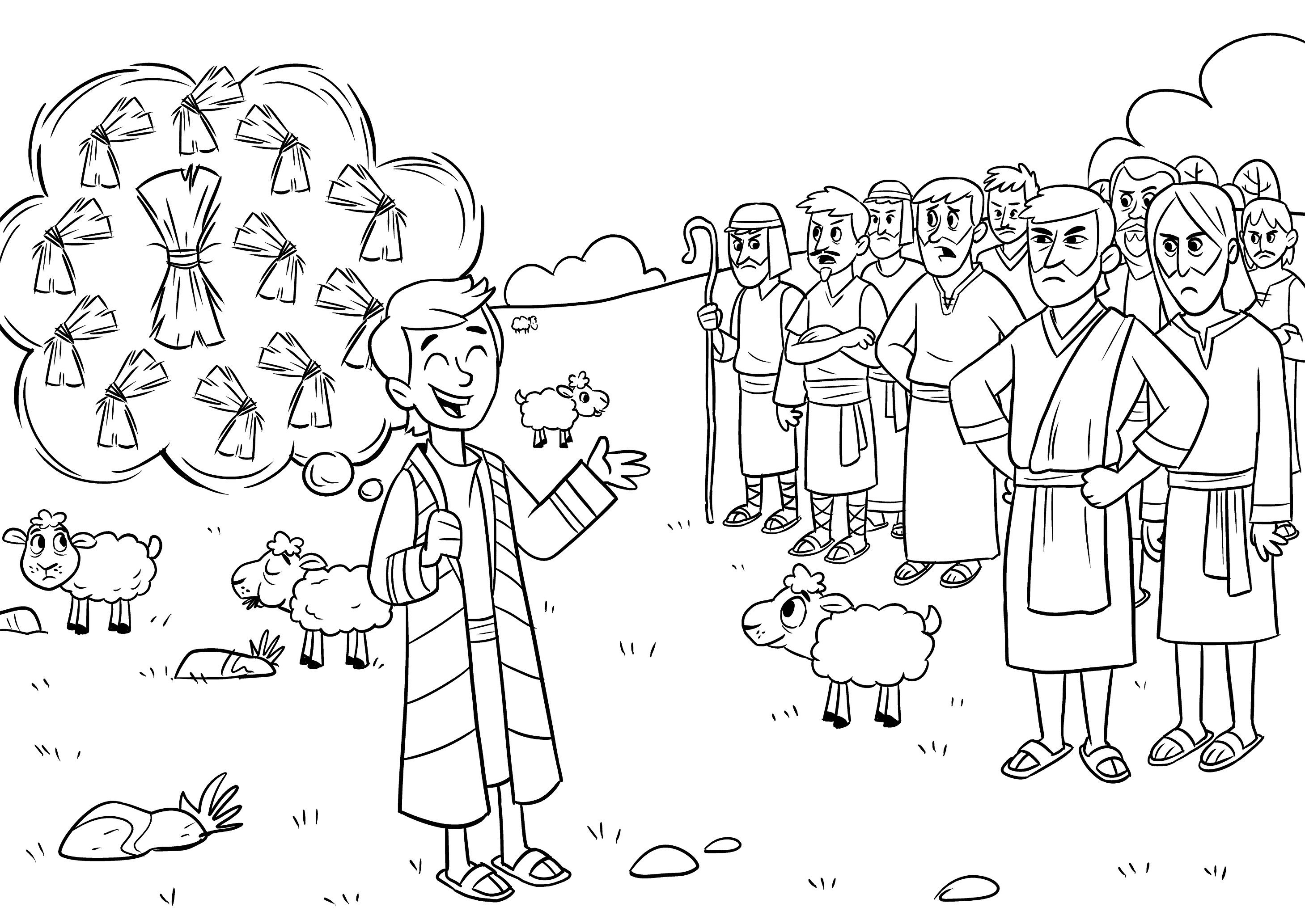 joseph the dreamer coloring pages joseph the dreamer coloring child coloring coloring the joseph dreamer pages