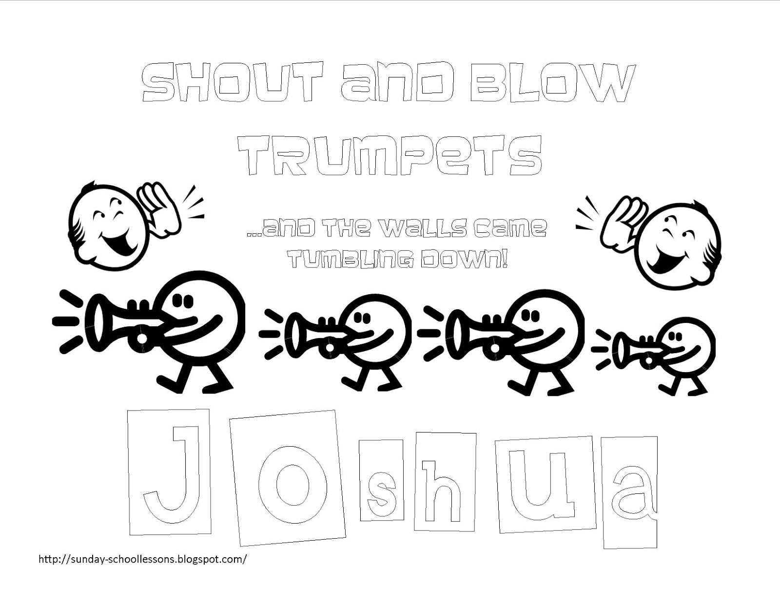 joshua coloring pages book of joshua free coloring pages for kids sunday joshua pages coloring