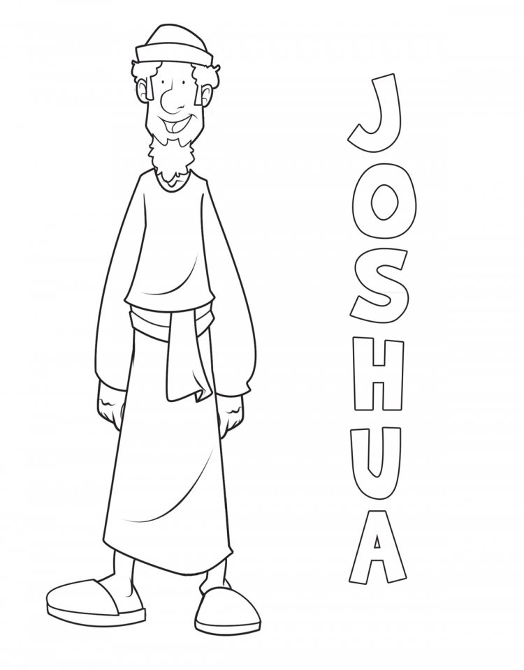 joshua coloring pages joshua and 12 spies coloring pages sketch coloring page pages joshua coloring