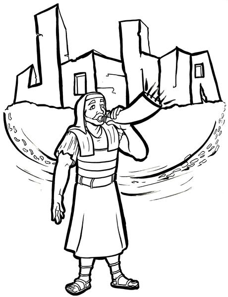 joshua coloring pages printable coloring pages walls of jericho coloring home joshua coloring pages