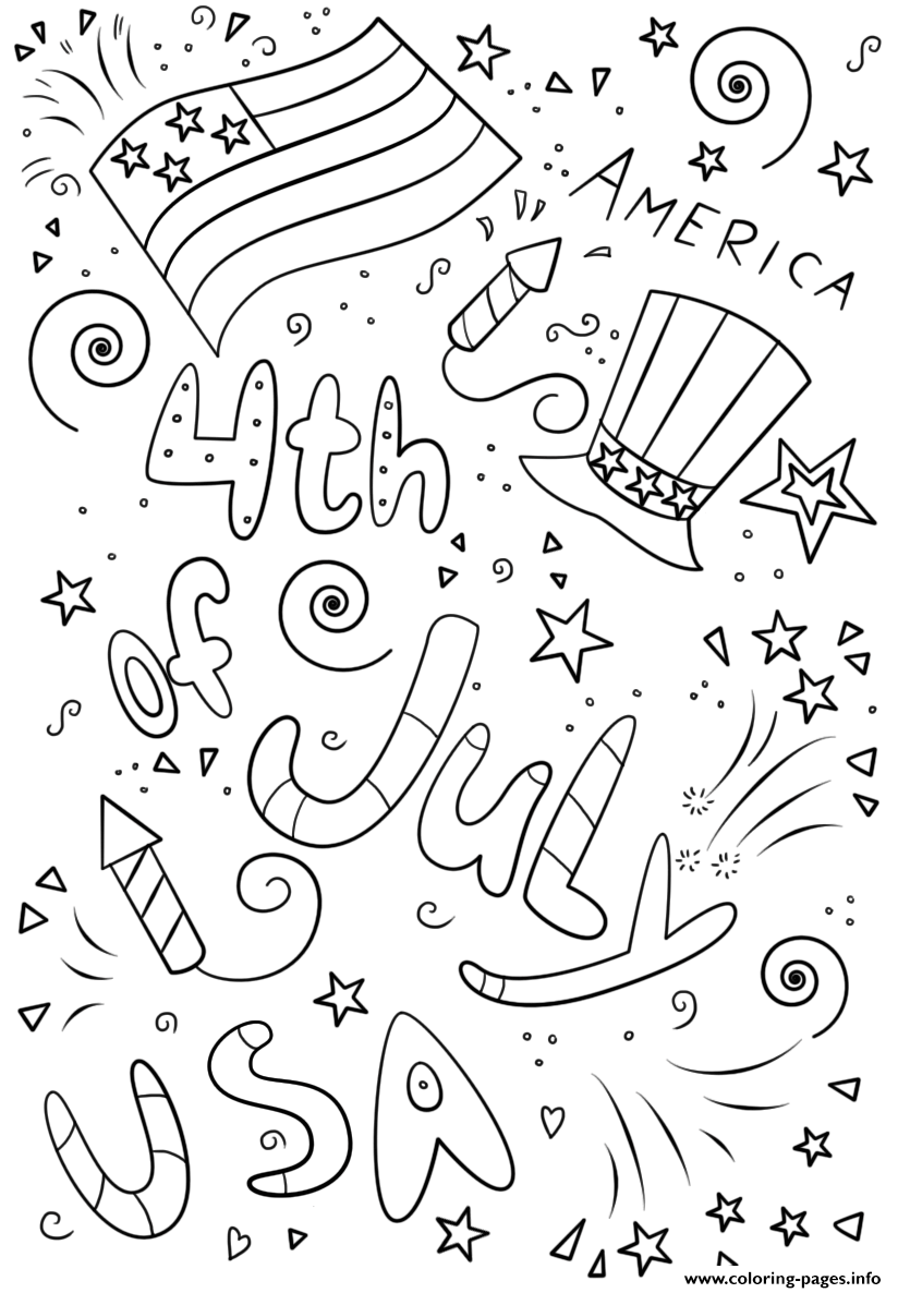 july coloring pictures 4th of july coloring page childrencoloringus coloring pictures july