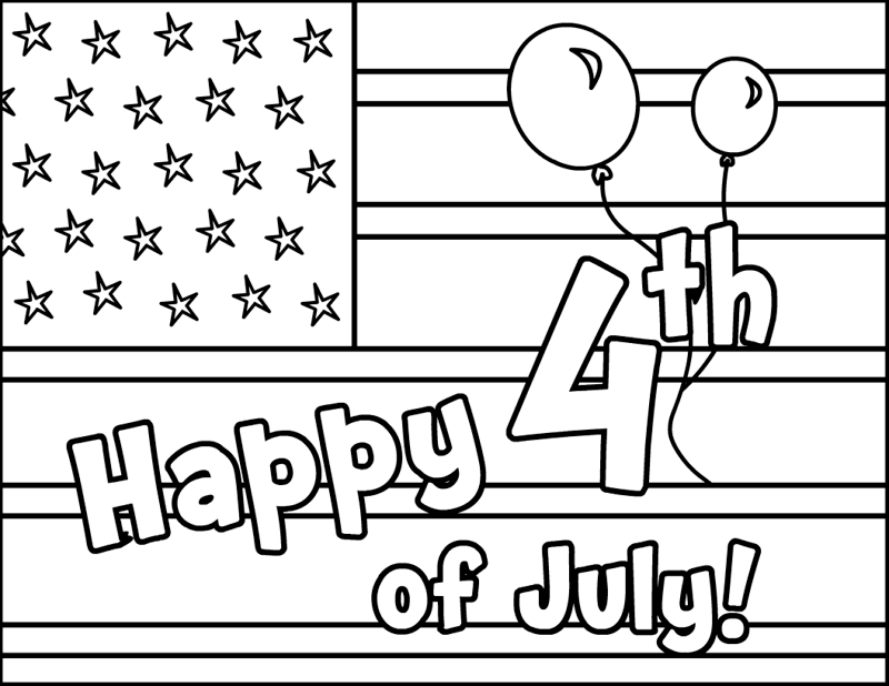 july coloring pictures 4th of july coloring pages best coloring pages for kids pictures july coloring
