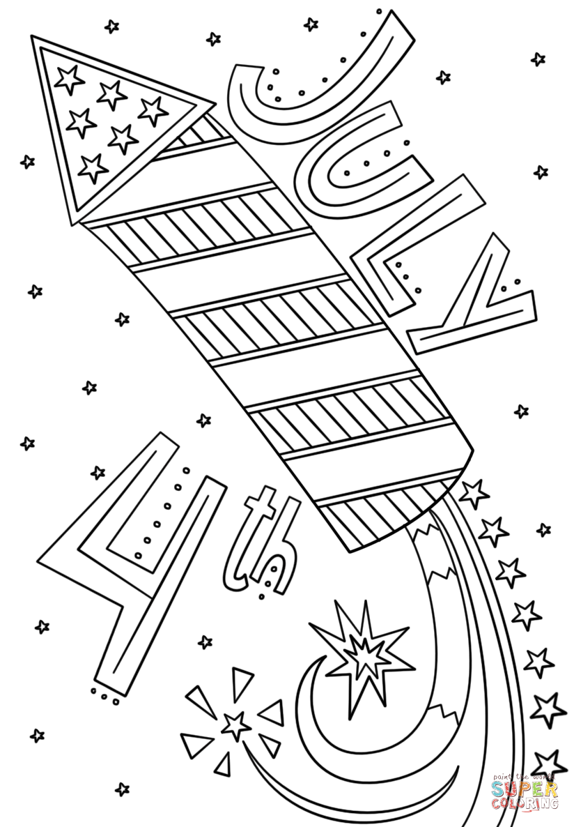 july coloring pictures 4th of july doodle printable coloring pages printable july pictures coloring
