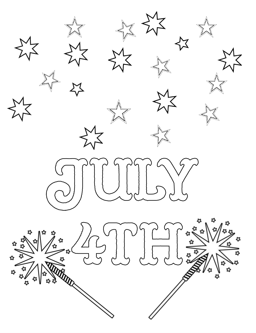 july coloring pictures fourth of july coloring sheet made by joel july coloring pictures