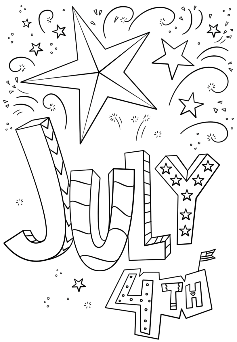 july coloring pictures july 4th coloring pages hellokidscom coloring pictures july