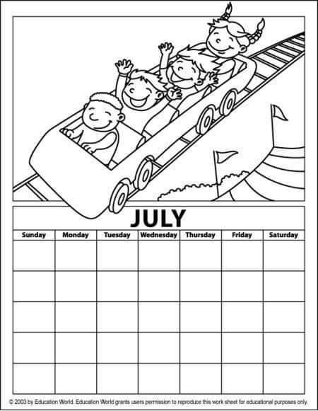 july coloring pictures peppy in july coloring page free printable coloring pages july coloring pictures