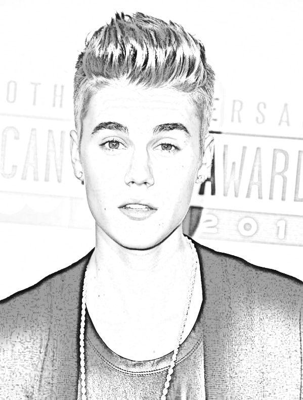 justin bieber coloring page justin beiber for print and color coloring pages justin bieber coloring page