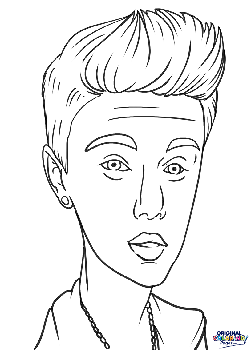 justin bieber coloring page justin bieber boyfriend coloring page netart justin bieber coloring page