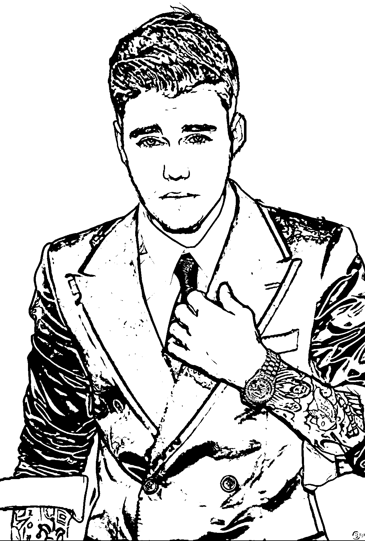 justin bieber coloring page merry christmas justin bieber coloring page netart justin coloring bieber page