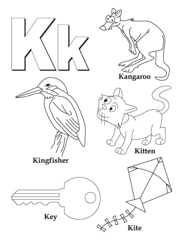 k coloring picture letter k coloring pages to download and print for free coloring k picture