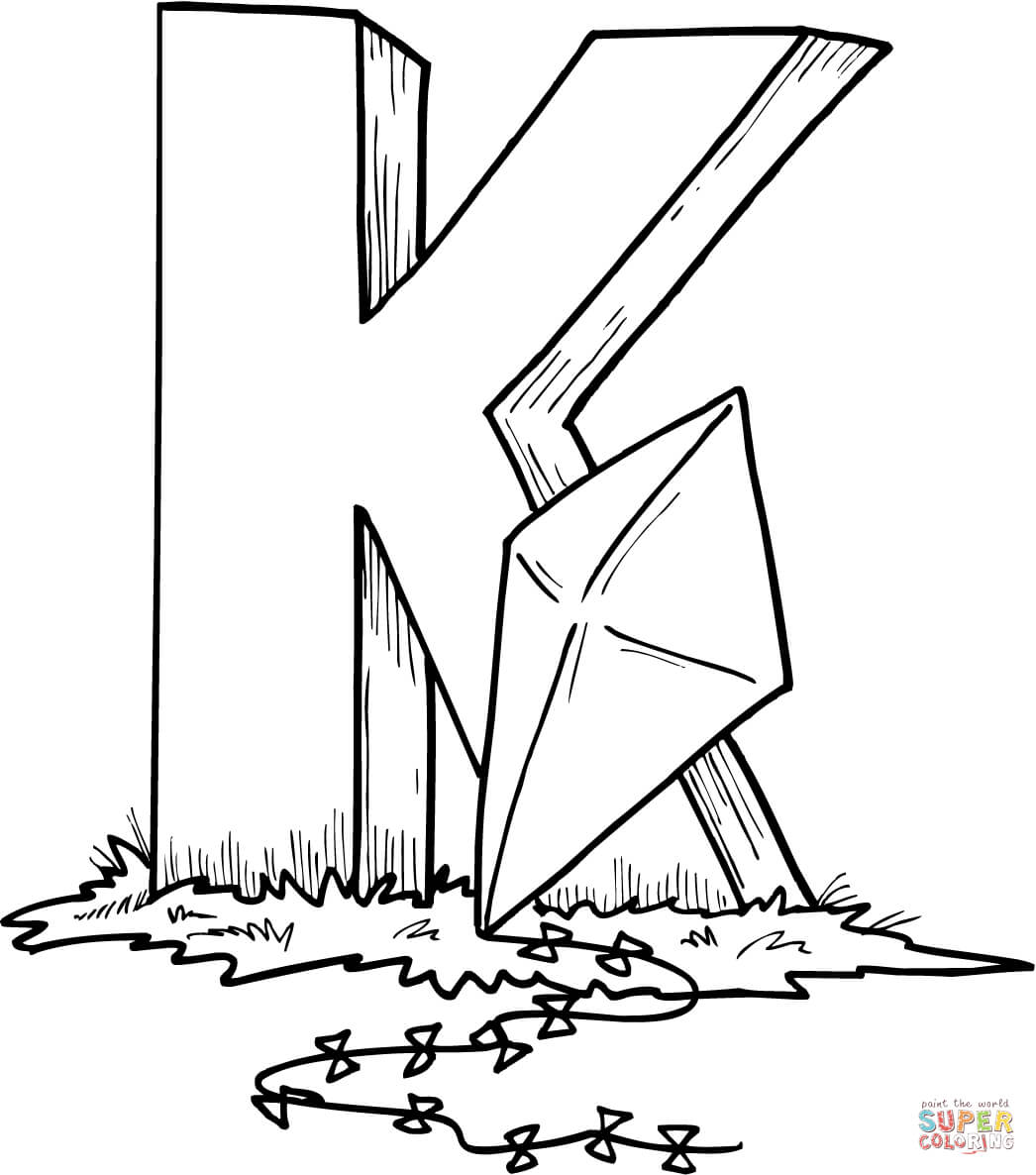 k coloring picture letter k coloring pages to download and print for free coloring picture k