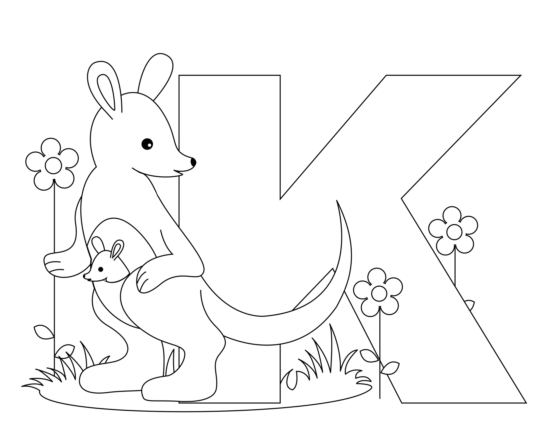 k coloring picture these free printables will make learning the abcs fun for k coloring picture