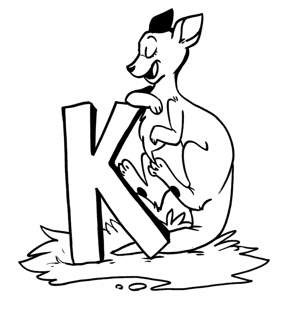 kangaroo colouring pictures free printable kangaroo coloring page download it at kangaroo pictures colouring