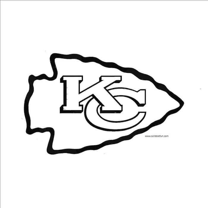 kansas city chiefs coloring pages kansas city chiefs coloring page pages kansas chiefs coloring city