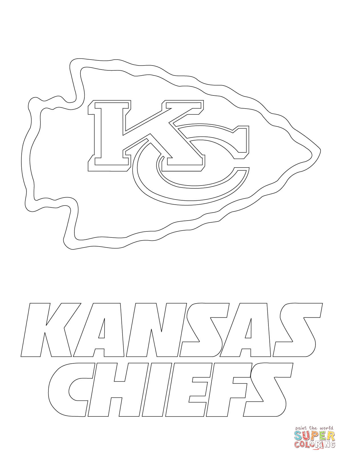 kansas city chiefs coloring pages kansas city chiefs coloring pages coloring home kansas chiefs city pages coloring