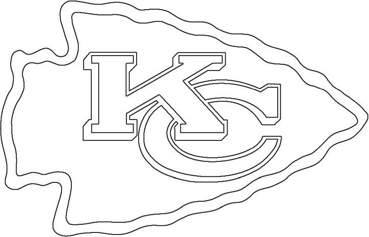 kansas city chiefs coloring pages kansas city chiefs logo in 2020 kansas city chiefs logo chiefs kansas pages coloring city