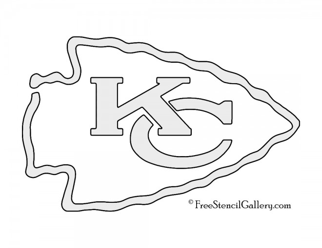 kansas city chiefs coloring pages nfl kansas city chiefs stencil free stencil gallery kansas city coloring chiefs pages