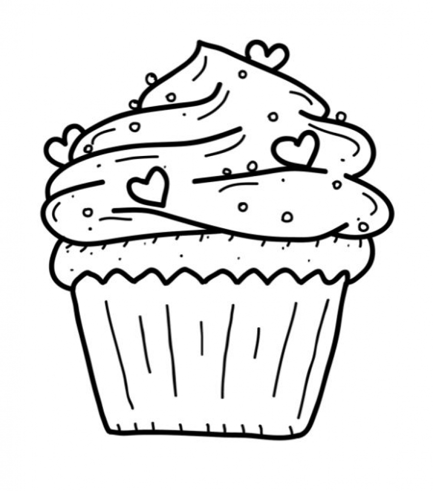 kawaii cupcake coloring pages get this cute cupcake coloring pages 20671 cupcake pages kawaii coloring