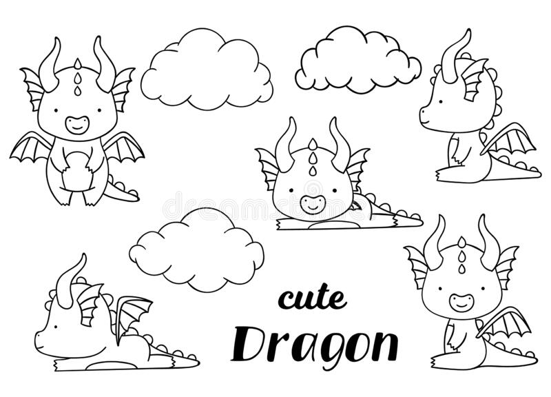 kawaii cute dragon coloring pages baby dragon coloring pages to download and print for free dragon coloring pages cute kawaii