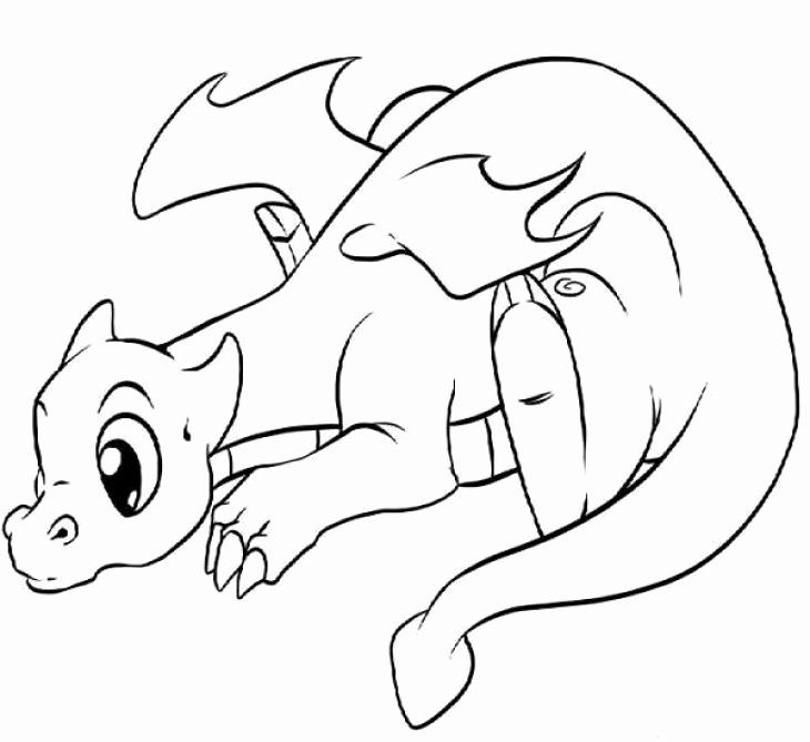 kawaii cute dragon coloring pages cute kawaii animal coloring pages fresh lonely little pages dragon cute coloring kawaii