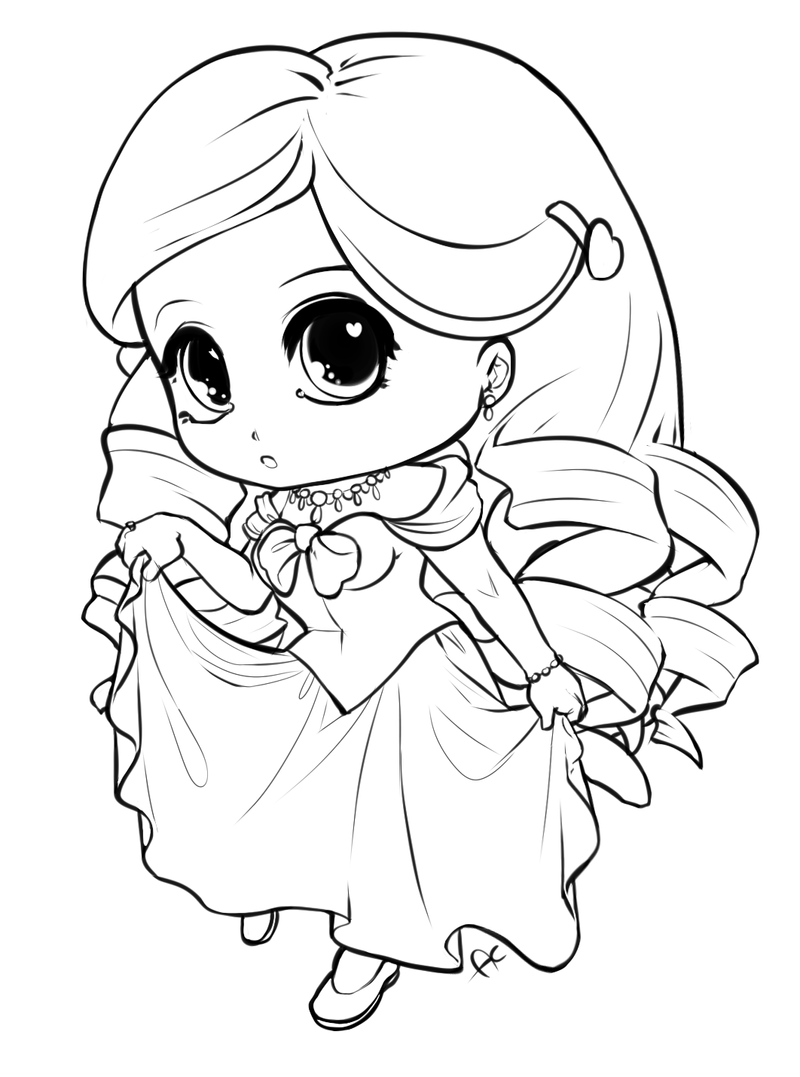 kawaii princess coloring pages pin by blue moon on أوراق تلوين cute coloring pages coloring kawaii pages princess