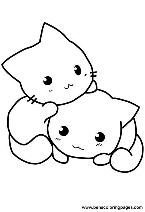 kawaii unicorn cat coloring pages hand drawn cute flying unicorn cats vector cartoon pages cat kawaii coloring unicorn