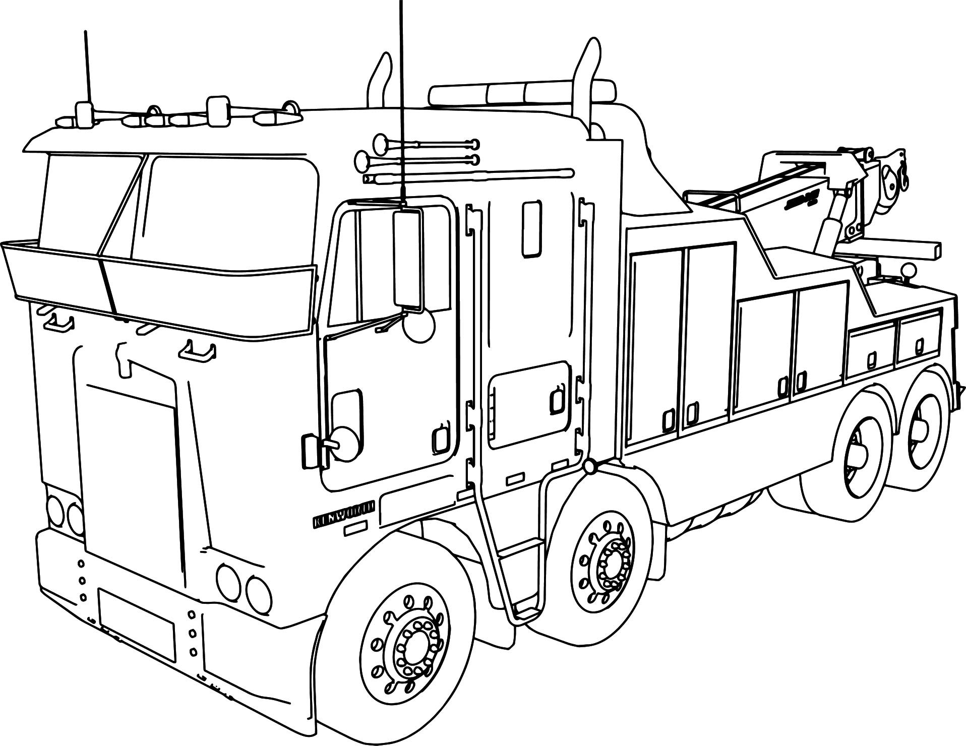 kenworth truck coloring pages kenworth coloring pages at getcoloringscom free truck pages kenworth coloring