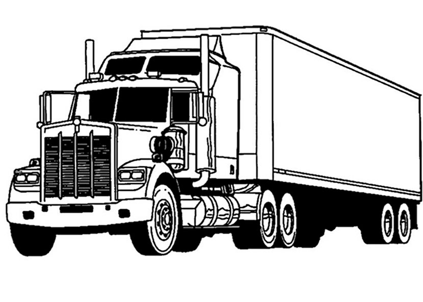 kenworth truck coloring pages kenworth t2000 truck truck car coloring pages truck coloring kenworth truck pages