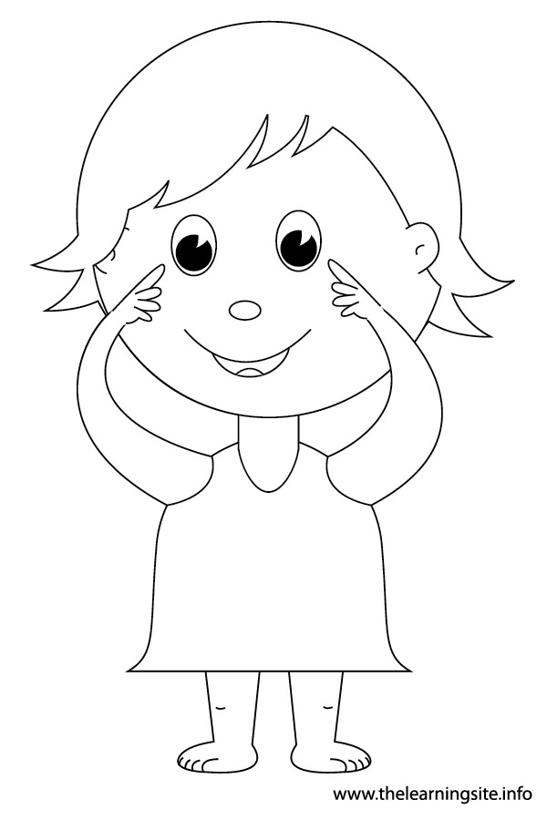 kid body outline coloring page children outlines free download on clipartmag outline body page coloring kid