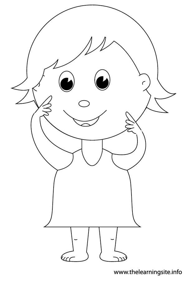 kid body outline coloring page human body line drawing at getdrawings free download body coloring outline page kid
