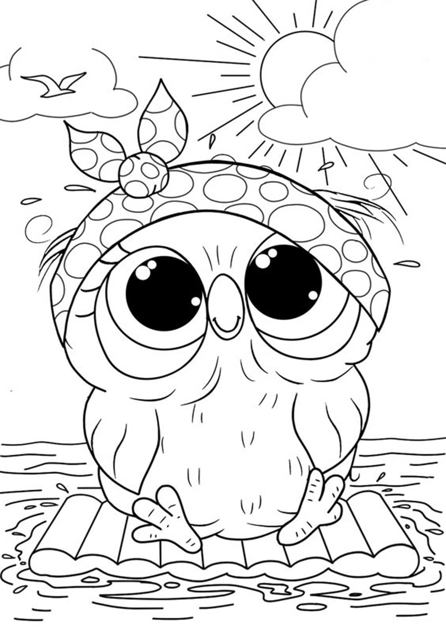 kids coloring owl baby owls coloring sheet to print kids owl coloring