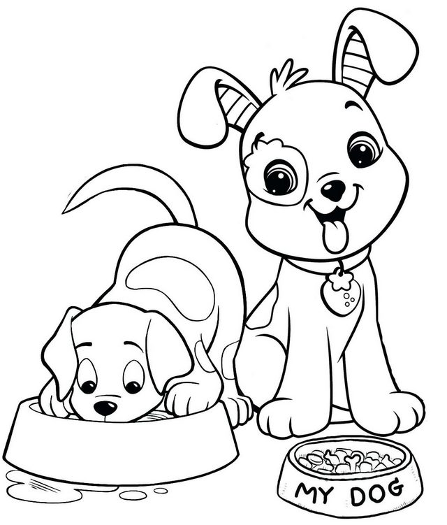 kids dog coloring pages free printable puppies coloring pages for kids dog kids coloring pages