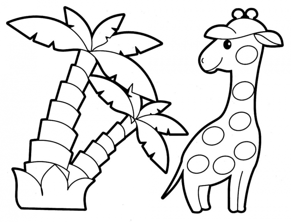 kids easy coloring book easy animal coloring pages for kids at getcoloringscom book easy kids coloring