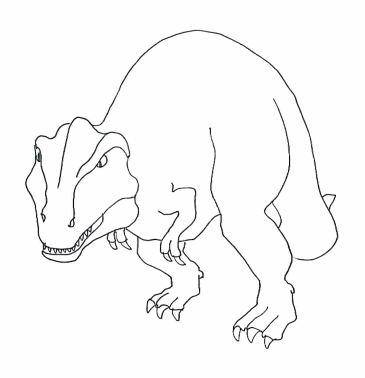 kids t rex coloring page angry tyrannosaurus rex coloring pages for kids printable kids coloring rex t page