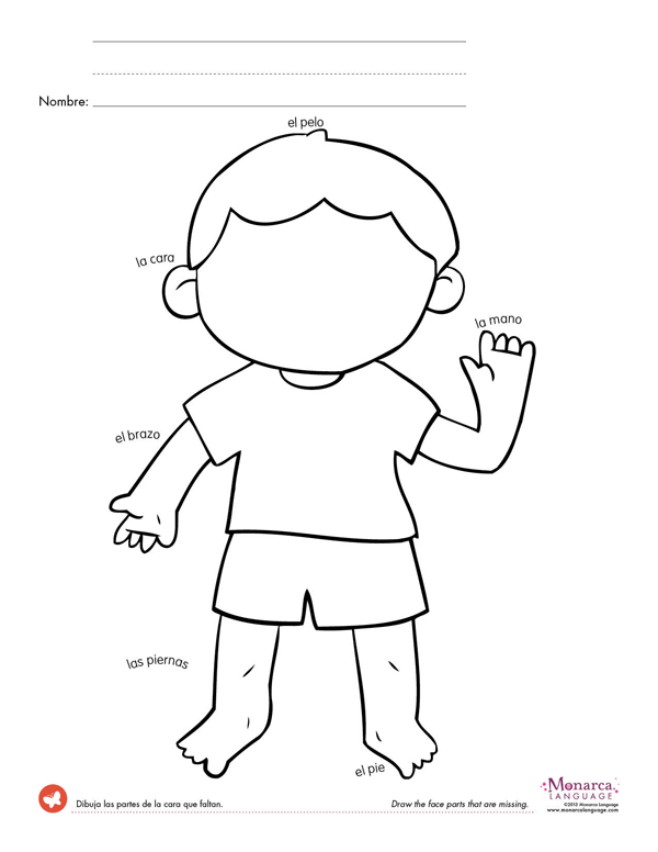 kindergarten body parts coloring body parts coloring page coloring home kindergarten coloring parts body