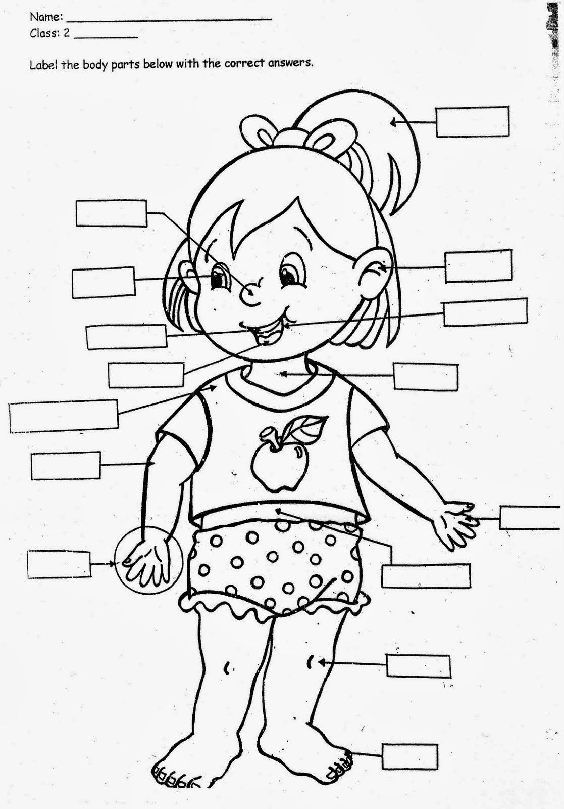 kindergarten body parts coloring body parts coloring pages for kids coloring home parts coloring kindergarten body