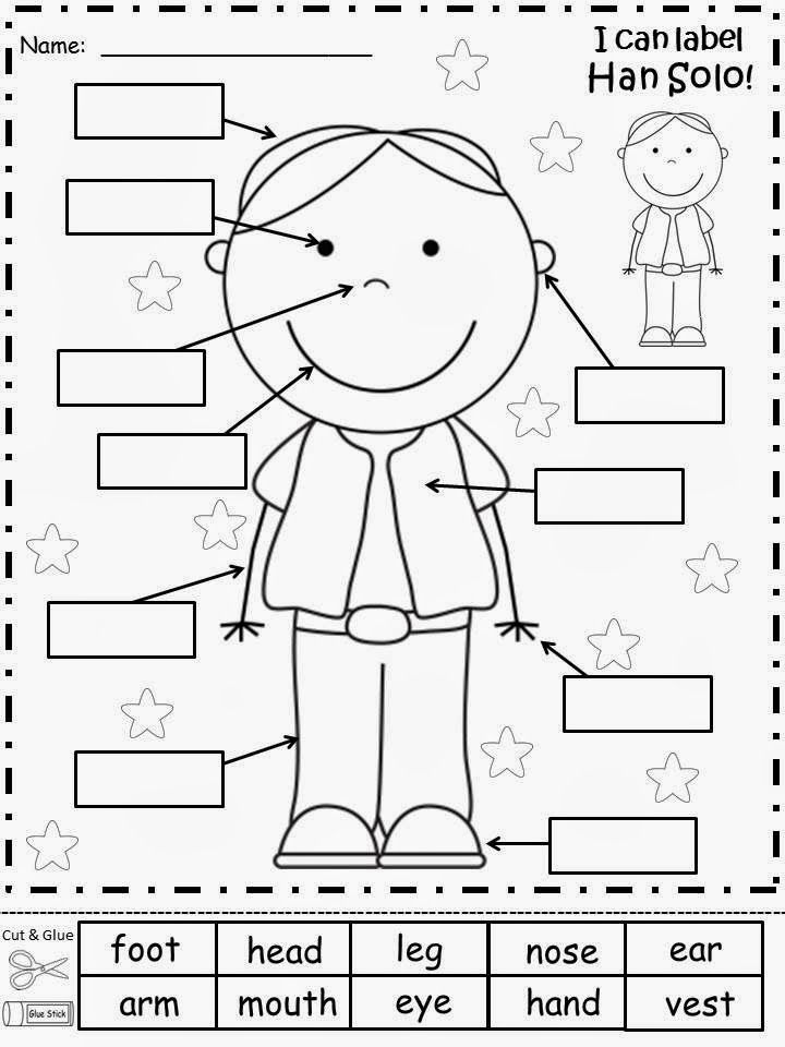 kindergarten body parts coloring worksheets body preschool preschool worksheets parts coloring body kindergarten