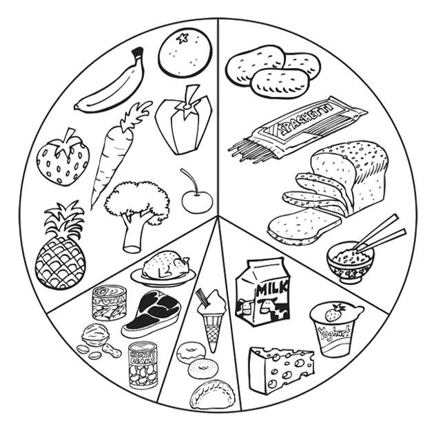 kindergarten nutrition month coloring pages february in our preschool is healthy living month here nutrition month coloring kindergarten pages