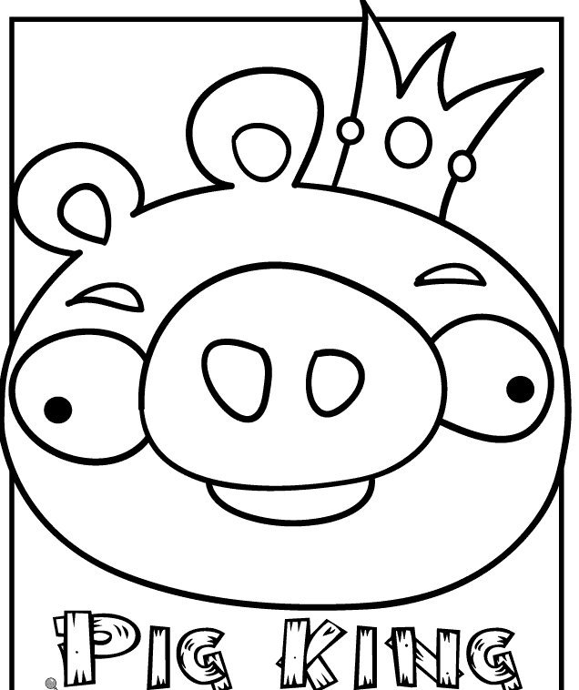king pig coloring page angry bird pigs king warlord coloring pages in 2020 page king coloring pig