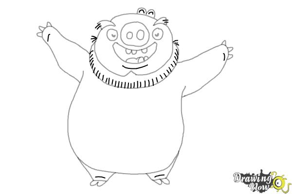 king pig coloring page color angry birds space pigs coloring pages coloring home coloring king page pig
