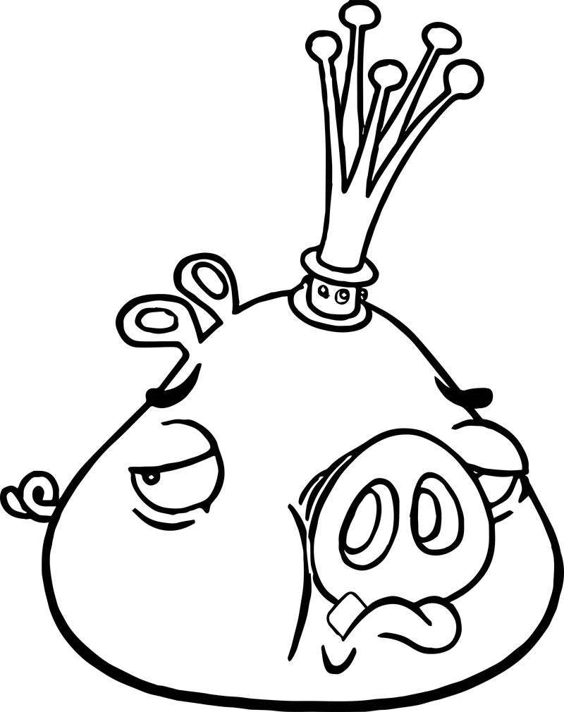 king pig coloring page king pig angry birds coloring page wecoloringpagecom coloring king page pig
