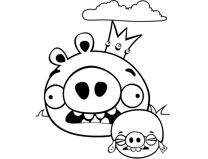 king pig coloring page king pig coloring pages pig page coloring king
