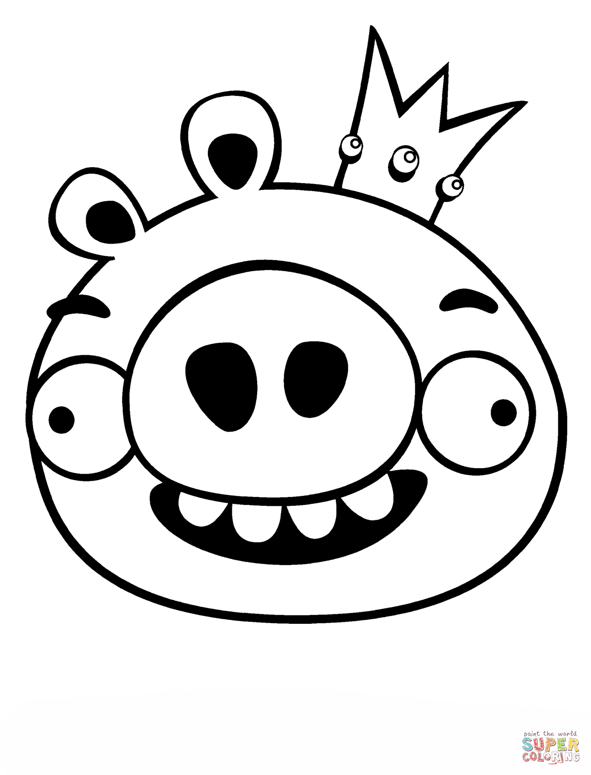 king pig coloring page king pig with helmet pig coloring play free coloring king coloring page pig