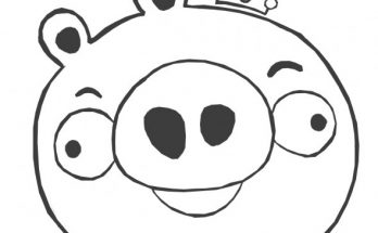 king pig coloring page radkenz artworks gallery angry birds pig coloring king page