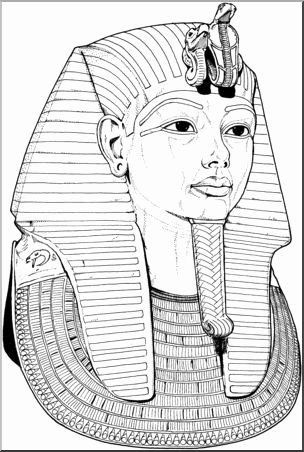 king tut coloring page 20 king tut coloring page in 2020 egyptian drawings page king tut coloring