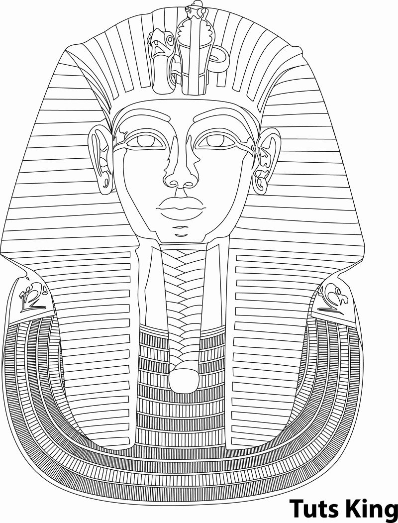 king tut coloring page 24 king tut coloring page egyptian drawings dog tut coloring king page